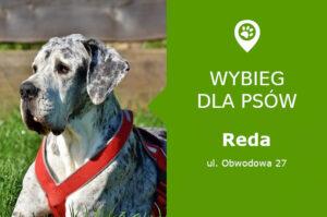 Wybieg dla psów Reda, ul. Obwodowa 27, pomorskie