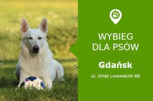 Psi park Gdańsk, ul. Orląt Lwowskich 68, dzielnica Ujeścisko, Kozacza Góra, pomorskie