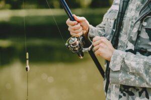 na ryby razem z psem